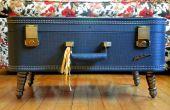Maak je eigen Vintage koffer salontafel