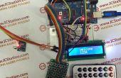 Infrarood Matrix wachtwoord Input System met Arduino