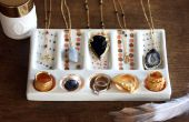 Handgemaakte accessoires-candy gekleurde DIY sieraden display