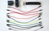 Arduino Nano en Visuino: 7 Segment Display klok met MAX7219 en DS1307 Real Time Clock(RTC)