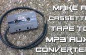 DIY cassettebandje naar MP3 aux converter