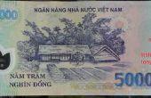 Opsporen van vervalste polymeer Vietnamees geld