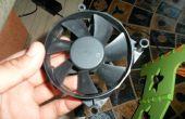 Oude PC Fan---> windturbine in 10 minuten