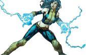 X-Men lichaam pak en macht handschoenen