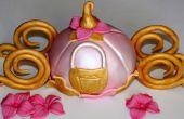 Disney Assepoester vervoer taart Topper