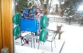 Venster schilderij Robot (arduino, verwerking, versnellingsmeter)