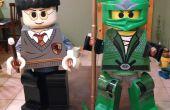 Lego Harry Potter & groene Ninjago jeugd kostuums