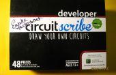 Educatieve elektronische puzzels maken met de Circuitscribe kit en 123D van Circuitscribe redacteur