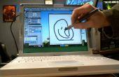 Hack mac laptop om een mac tablet in 15 minuten of DIY Cintiq