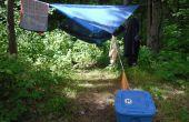Mijn geweldige backpacken kamp Setup / Checklist!