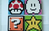 LEGO Mario Sprite mozaïeken