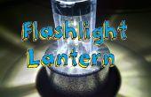 Verander uw zaklamp in een lantaarn!