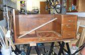 Transformeren van een oude Bureau voor een hobby/craft desk