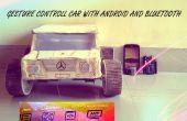 Gesture control car(robot) met Arduino en Android(bluetooth)