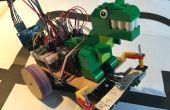 Doolhof van Oplosser Robot, met behulp van kunstmatige intelligentie met Arduino