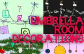 Paraplu kamer decoratie