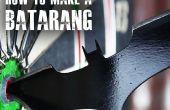 """Hoe maak je een Batarang zoals """"The Dark Knight"""""""
