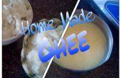 Tips van moeder-In-Law-maken geklaarde boter (Ghee Pure) the Easy Way