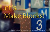 Maken blokken maken herinneringen