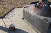 Met behulp van minimale watervoorziening destilleren