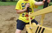 Zand Digger: Gemaakt van gerecyclede Pallets