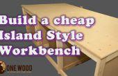 Hoe het bouwen van een goedkope werkbank voor houtbewerking met behulp van een mal van Kreg HD, met VIDEO tutorial