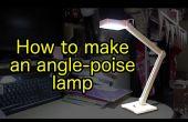 Hoe maak je een houten, USB aangedreven, hoek-poise Ledlamp