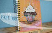 Hoe maak je een hand geschilderde receptenboek