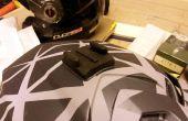 GoPro Mount modificatie voor onregelmatig gevormde helmen Fox, vliegen en anderen.