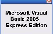 Creëren van uw eerste programma In Visual Basic