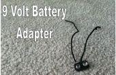 Hoe maak je een 9 volt batterij adapter