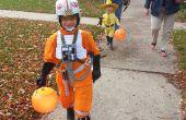 X-Wing Pilot (rode V) Kid's kostuum