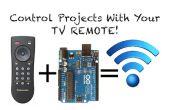 Het gebruik van IR-afstandsbedieningen met Arduino (huidige en bijgewerkte)