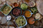 Burrito-buffet met alles