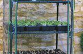 Mini serre irrigatiesysteem
