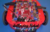 Lijn volgende MRK Robot met 3D-gedrukte onderdelen