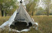 Tyvek Tarp Tent en grond doek