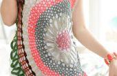 WINTER gehaakte jurk voor meisjes