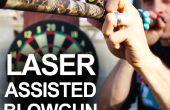 Hoe maak je een Laser bijgestaan Blowgun