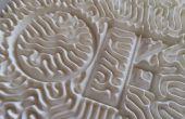 3D afgedrukt reactie Diffusion patronen