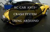 RC auto anti-crash systeem met behulp van Arduino