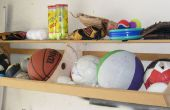 How to Build een bal Bin plank