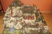 Kerst kerststal dorp