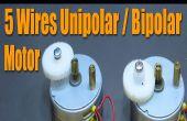 Stepper Motor Basics - 5 draden unipolaire / bipolaire Motor