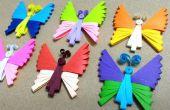 Filigraan vlinder maar nu met een filigraan kam