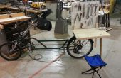 Draagbare fiets reparatie Station