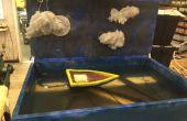 Universiteit van Cincinnati CCM - pneumatische Water Diorama