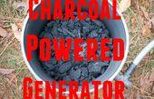 Houtskool aangedreven Generator - vergasser