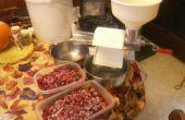 Suikervrije zelfgemaakte organische Raspberry Jelly gezoet met honing!
