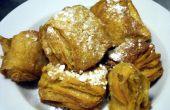 Croisseignet Croissant Beignet gebakken gebak behandelen